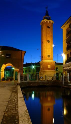 Blue hour - Comacchio (3792 clic)