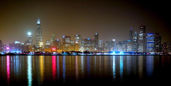 Chicago by night (1023 clic)