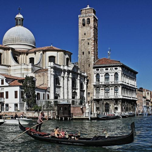 Canal Grande e dintorni - Venezia (7668 clic)