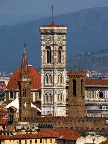 Campanili e torri fiorentine - Firenze (2081 clic)