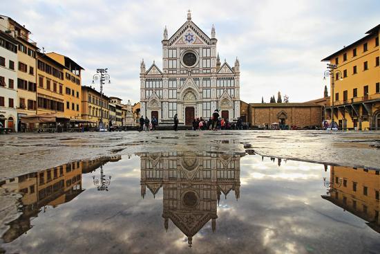 Riflessioni di Santa Croce - Firenze (468 clic)