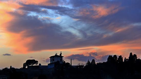 Forte di Belvedere al tramonto - Firenze (1186 clic)