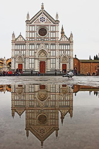 Santa Croce raddoppiata - Firenze (1124 clic)