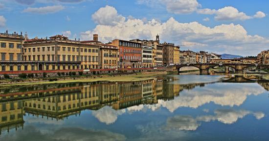 Riflessioni dell'Arno - Firenze (1028 clic)