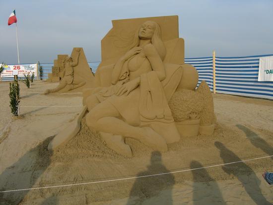 Sculture di sabbia Sabbia (404 clic)