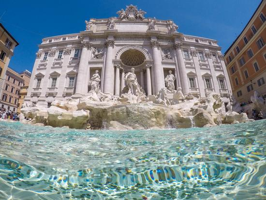 Fontana di Trevi - Roma (177 clic)
