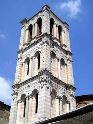 Il campanile della Cattedrale - Ferrara (2486 clic)