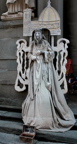 Artista di Strada - Firenze (1049 clic)