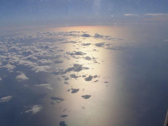 tramonto dall'aereo - Roma (6423 clic)