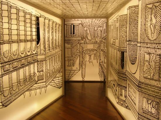proiezionse  di una prospettiva presso il museo del cinema di Torino                                                                      (5672 clic)