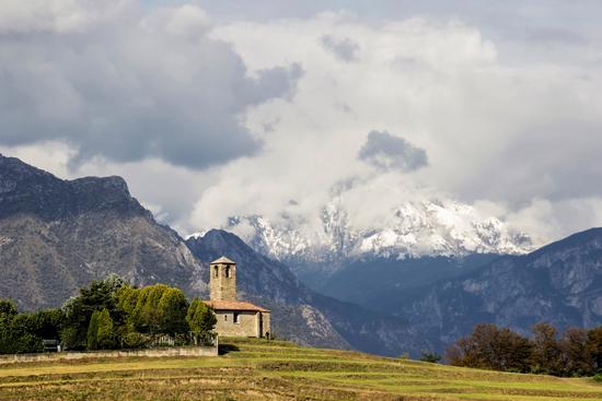 La Prima neve stagionale 10-10-16 - Garbagnate monastero (729 clic)