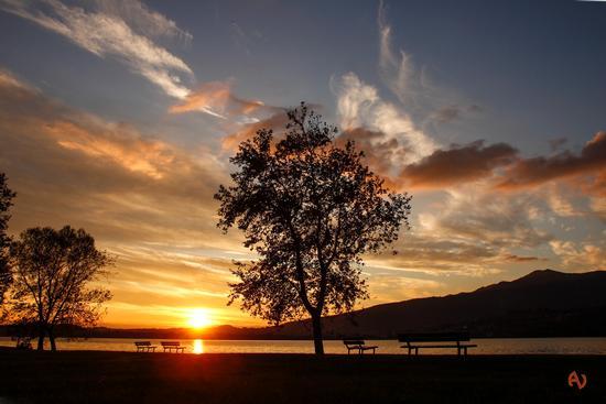 tramonto a Bosisio Parini (888 clic)