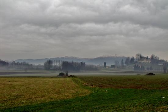 PAESAGGIO INVERNALE - Alzate brianza (1300 clic)