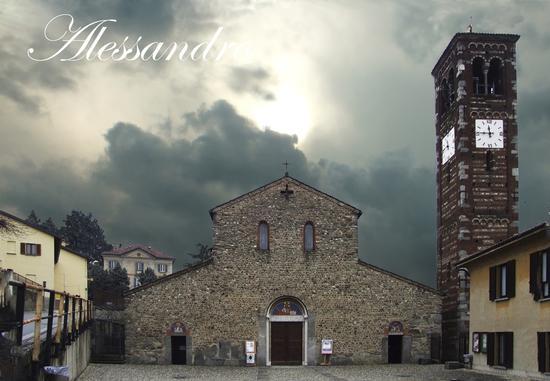 SAN PIETRO E PAOLO DI AGLIATE - Carate brianza (1156 clic)