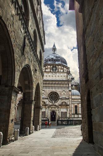 SCORCIO SULA CAPPELLA COLLEONI - Bergamo (1284 clic)