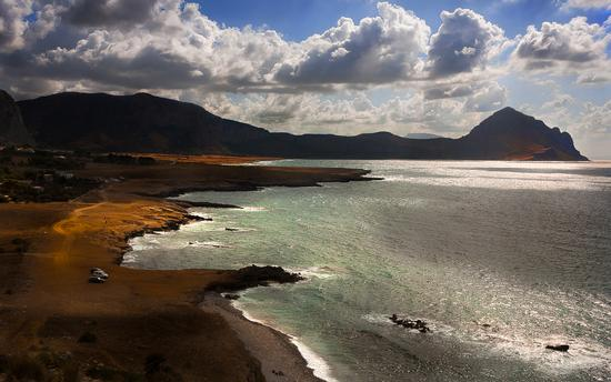 Vista della spiaggia di Macari (2157 clic)