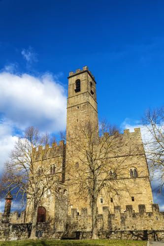 Il castello di Poppi - POPPI - inserita il 25-Feb-13