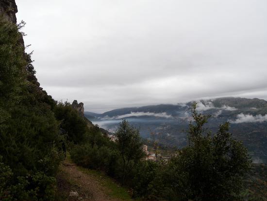 Vista sul tacco di corongiu dal tacco di tisiddu - Ulassai (1250 clic)