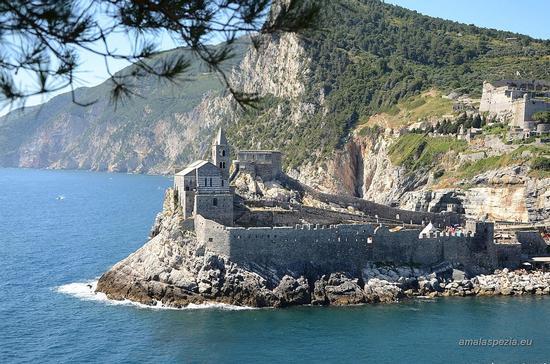 San Pietro dall'isola Palmaria - Portovenere (1153 clic)