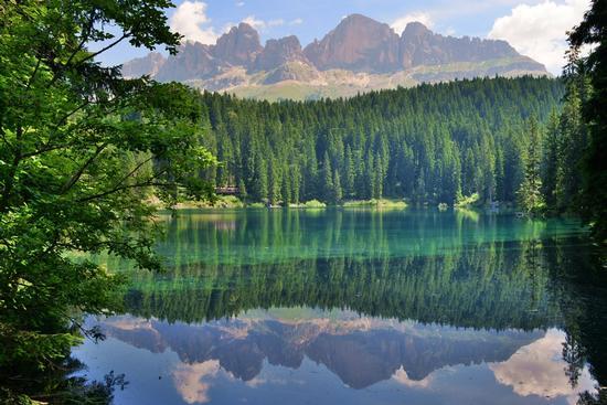 Lago di carezza - Carezza al lago (858 clic)