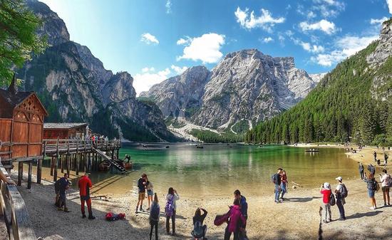 lago di Brajes - Braies (6 clic)