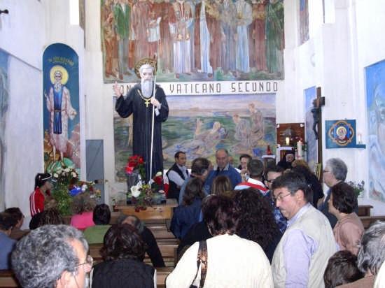 Santuario di San Nicodemo A.B. - Interno - Mammola (2841 clic)