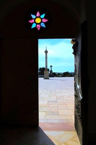 La colonna e la croce - Santa maria di leuca (1018 clic)