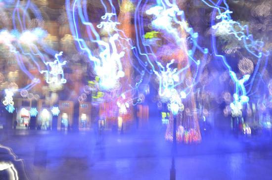 Giochi di luci - Lecce (1407 clic)