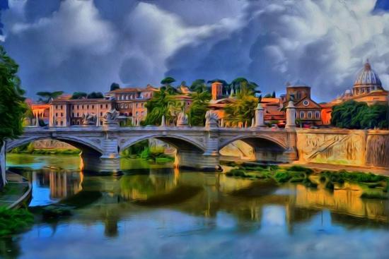Ponte romano (1333 clic)
