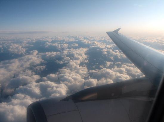 In volo... (230 clic)