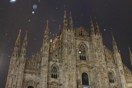 In Duomo con la neve - Milano (757 clic)