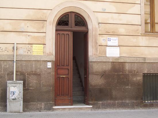 Portone in Via Roma - Sassari (1423 clic)