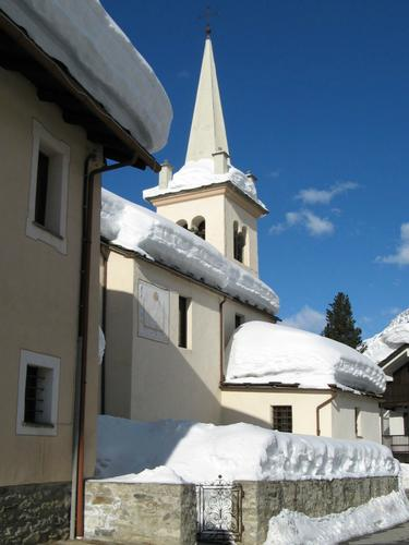 La chiesa - Rhemes notre dame (4333 clic)