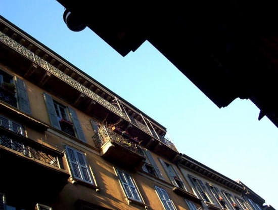 passeggiata in brera - Milano (2499 clic)