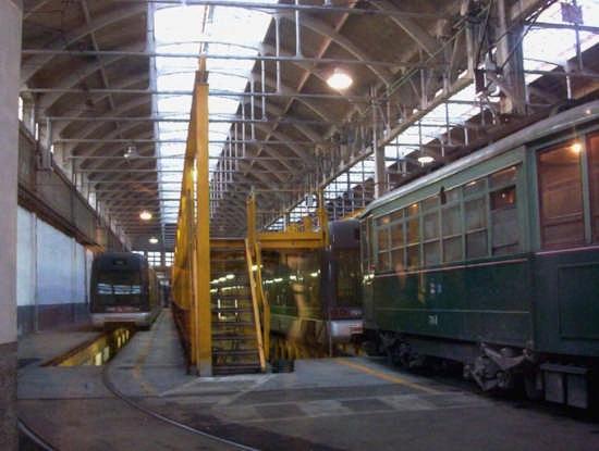 deposito dei tram - Milano (6212 clic)