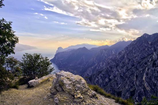 Tramonto Punta Larici - Riva del garda (3270 clic)