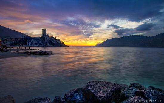 Sunset Malcesine, Lake Garda - MALCESINE - inserita il 07-Jan-15