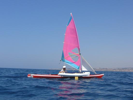 a bordo del Tricheco - Marina di modica (2076 clic)