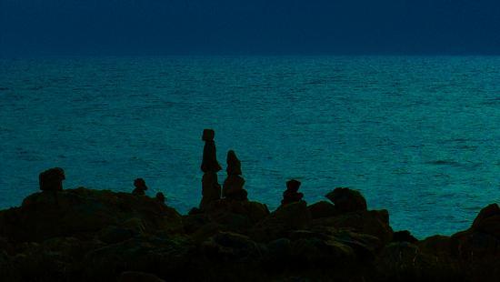 Pinnacoli al chiaro di luna - Sampieri (2615 clic)