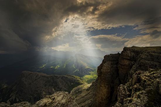 Il potere della Luce - Alta badia (6367 clic)