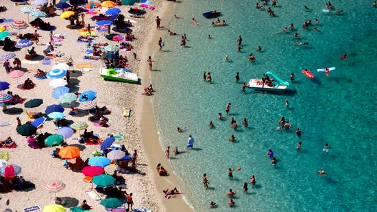 Spiaggia a Tropea (1161 clic)