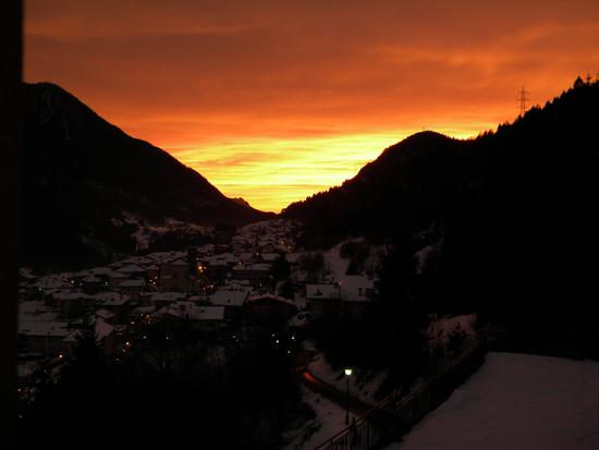 tramonto a breguzzo (994 clic)