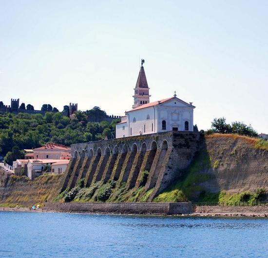 chiesa di San Giorgio a Pirano ,slovenia (657 clic)