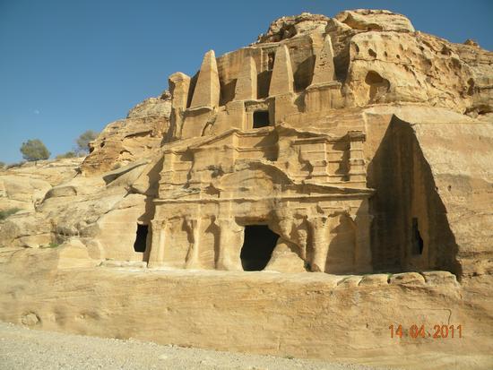 petra ,giordania,tomba egizia (675 clic)