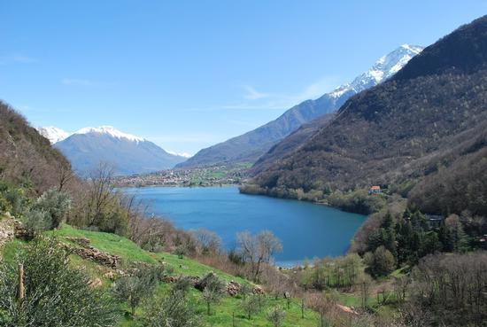 laghetto di Piona (lago di como ) - Colico (1083 clic)