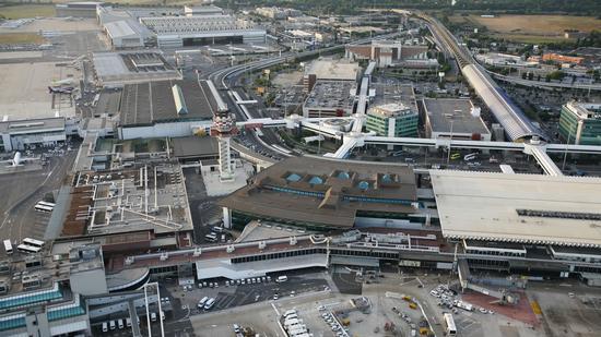 Aeroporto Leonardo Da Vinci Fiumicino (1365 clic)