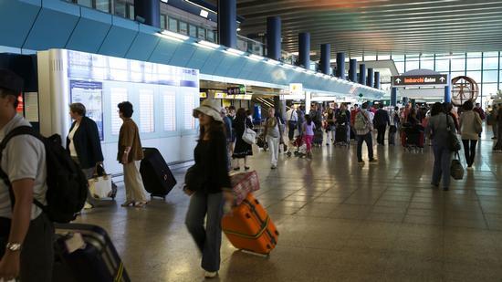 Aeroporto Leonardo Da Vinci Fiumicino (1235 clic)
