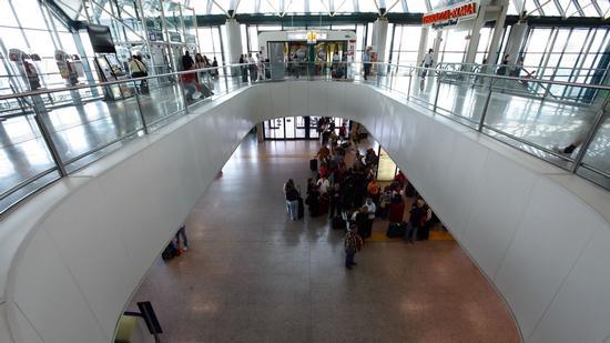 Aeroporto Leonardo Da Vinci Fiumicino (1267 clic)
