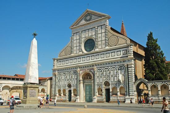 Chiesa di Santa Maria Novella, Firenze (1922 clic)