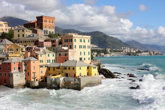 Quartiere Boccadasse - Genova (2640 clic)